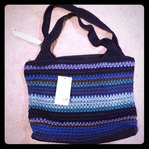 The Sak hand crocheted purse